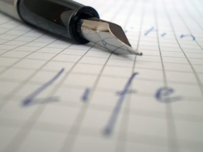 Pen & Paper by Ramunas Geciauskas • CC BY 2.0