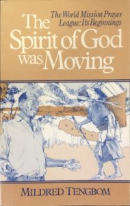 The Spirit of God was Moving (Book Cover)