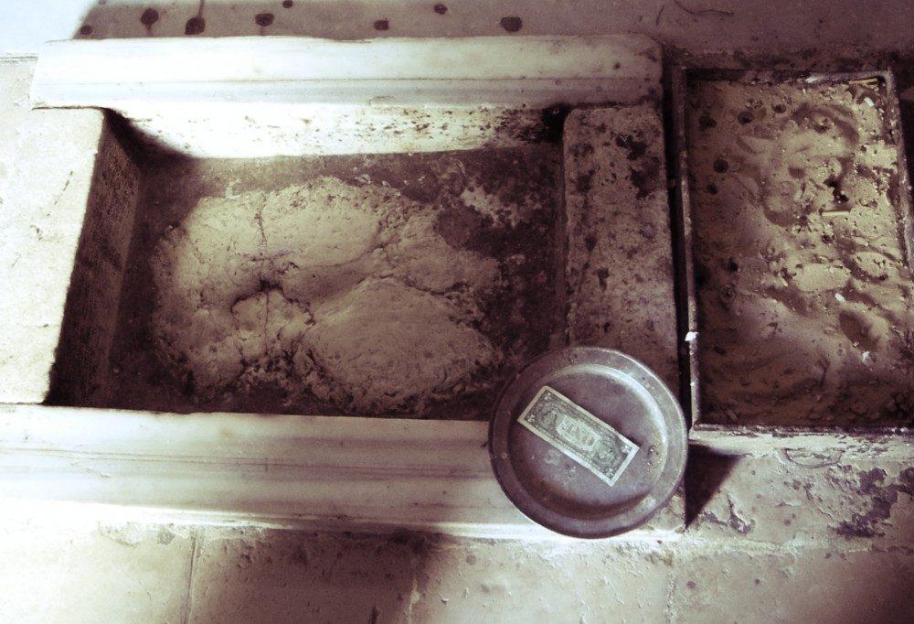 Supposed Footprint of Jesus