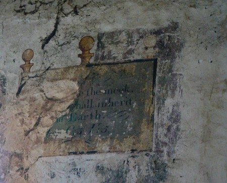 Elston Old Chapel, Wall Paintings
