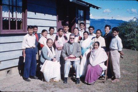 Darjeeling Hills Bible School, 1961